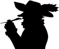 Cyrano de Bergerac silhouette